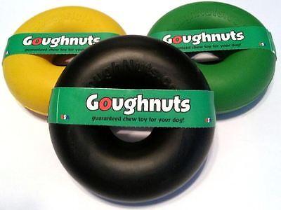 Ring Dog Chew - Goughnuts Large Ring Dog Toy - LIFETIME WARRANTY-Heavy Duty Dog Chew Goughnut