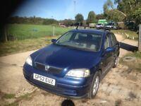 Vauxhall Astra 1.6 NEW MOT