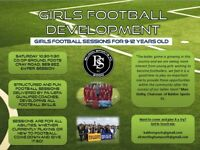 GIRLS FOOTBALL SESSIONS 9-12 YRS OLD