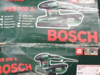 BOSCH ELECTRIC ORBITAL SANDER. PSS200A