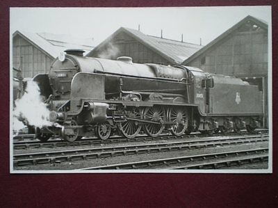PHOTO  SR  LORD NELSON 30851 SIR FRANCIS DRAKE AT EASTLEIGH 3/6/56