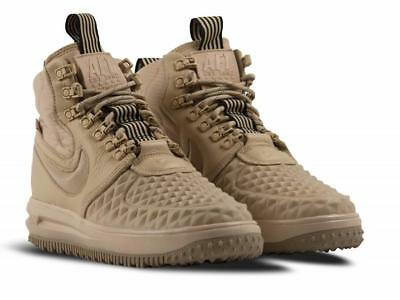 NIKE AF1 LUNAR FORCE 1 DUCKBOOT '17 MENS 10.5 LINEN (BEIGE) NEW 916682-201
