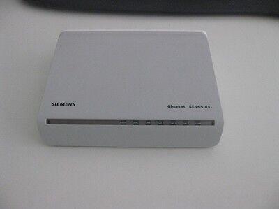Siemens Gigaset SE565 DSL Ethernet ADSL modem PSTN EXCL PSU