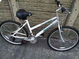 17 inch Falcon ladies mountain bike Ridden once Perfect working order