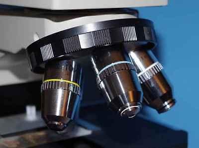 Nos Nikon Labophot Microscope And Mint Nikon Lenses Plus Extras