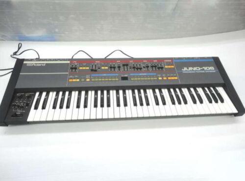Roland Juno 106 Analog Synthesizer Keyboard 61 key Polyphonic synthesizer Work