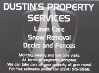 Dustin's Lawn care and Snow removal