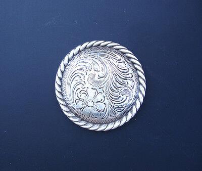 gt Silber Seil Bordüre 3.2cm Conchos Set 6 (Western-dekor)