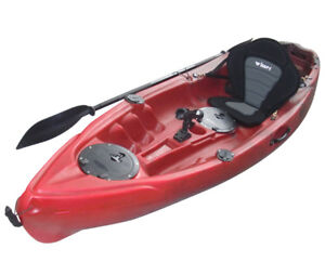 New Winner Volador Fishing kayak w/paddle