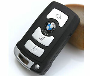 Remote-Case-for-BMW-7-Series-745-750-i-Li-Smart-Key-Shell-Fob-Fob-4-Button