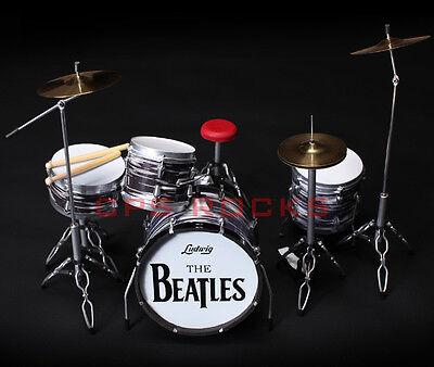 Drum Kit Collectible Beatles Classic RINGO STARR Drum Set Miniature Replica