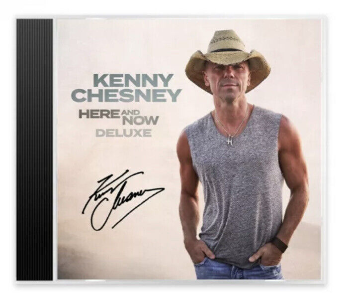 KENNY CHESNEY SIGNED HERE AND NOW CD AUTOGRAPHED *SOLD OUT* *PROOF*