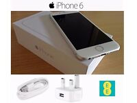 iPhone 6 Boxed With Accessories.