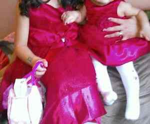 Christmas dresses sizes 5years  and 6months