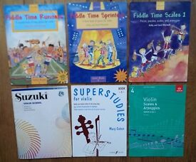 Selection of Violin Books