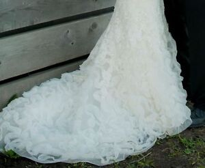 Amazing Wedding Dress JUST REDUCED TO 500.00