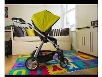 mamas&papas Sola 2 Pushchair with NEW Carrycot