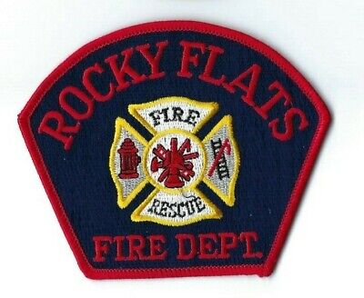 DEFUNCT Rocky Flats (U.S. Dept. of Energy) CO Colorado Fire Dept. patch - NEW!