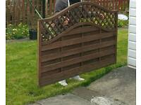Fence Panels x2 6ft by 4ft