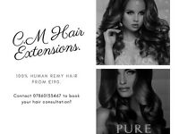 *LIMITED OFFER.* 100% Human Remy Hair Extensions/ Micro Rings, Mini Tubes, Micro Bonds & Shrinkies.