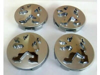 PEUGEOT 55//60mm Wheel Center Caps Alloy Hubs Covers 3008 5008 2008 208 206 207 B