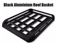 LARGE BLACK ALUMINIUM ROOF RACK