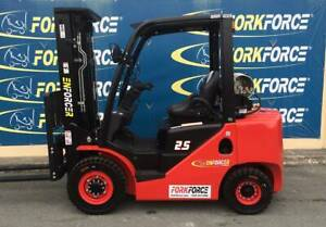USED Enforcer 2.5T LPG-Petrol Forklift Bayswater Knox Area Preview