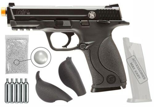 Umarex S&W M&P 40 KWC BB CO2 Blowback AirSoft Pistol with Wearable4U Bundle