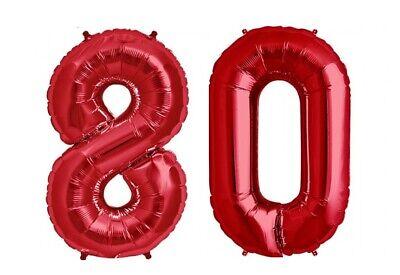 80th Birthday Balloons (16