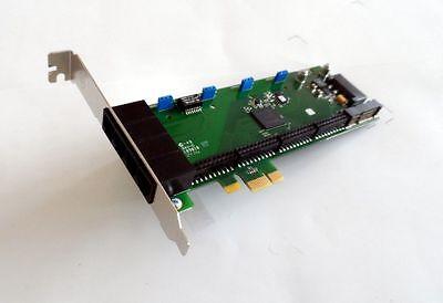 Digium 4 Port Analog PCI-E Asterisk Card with 0 FXS 0 FXO 0 EC 1A4B00F 4 Port Fxo Analog