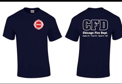 Chicago Fire Tshirts (Chicago Fire Show TV Show Chicago Fire Department T-shirt Duty Shirt Rescue)