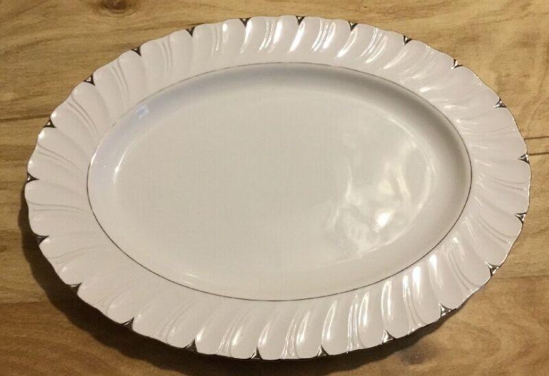 Harmony House Japan Medium Platter Heirloom Pattern Discontinued