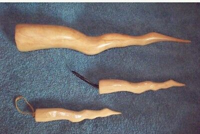 BUFFY THE VAMPIRE SLAYER MR POINTY PROP REPLICA 1/2 SCALE ORNAMENT HAND CARVED