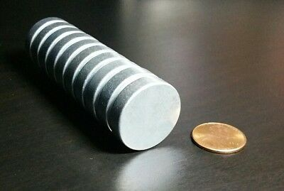 5 Large Neodymium Rare Earth Magnet Disc 1 X 14 Super Strong High Heat Grade