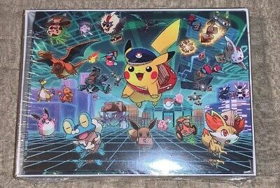 Pokemon Center Original Special Delivery Pikachu Note Card Set Delivery Note Set