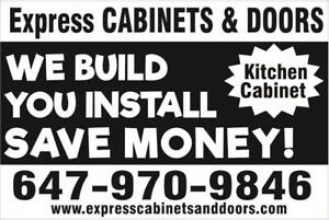 Custom Cabinets - Cabinet Boxes - Drawer boxes - Full Kitchen Pick Up - 1-2 Weeks