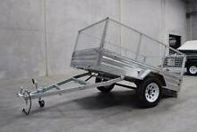NEW YEAR SALE - Hot Dipped Gal 8x5 Trailer Full Package Deal! Meadowbrook Logan Area Preview
