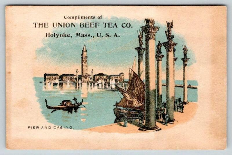 1891 COLUMBIAN EXPOSITION PIER & CASINO*UNION BEEF TEA CO*QUACK MEDICINE TRADE