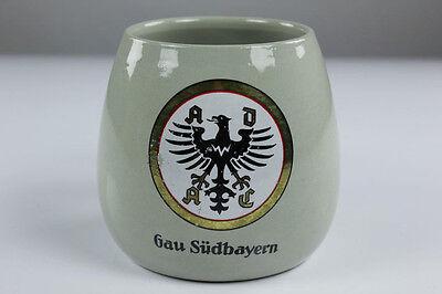 German Beer Stein A D A C  Gau Südbayern Tankard 0.5 Litre