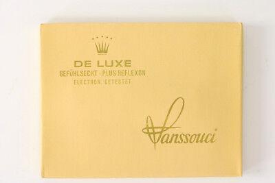 Alte Packung Ritex Sanssouci De Lux Präservativ 70er Jahre Pariser