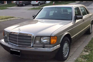 W126 1989 Mercedes Benz 420 SEL,Full service history, Certified