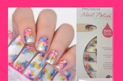 Incoco Nail Polish Appliqué  CHEMISTRY. 16 Double Rounded Strips