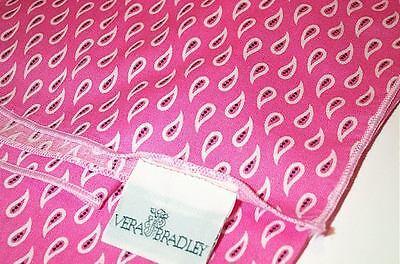 Rare Vera Bradley Pink Bandanna Brights Collection Table Cover Tablecloth (Bandana Tablecloth)