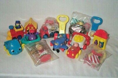 "McDonalds "" Under 3"" Happy Meal Toys Fisher Price Lot Dumbo"