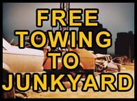 Free Scrap/Junk Car Removal Calgary,Canmore,Banff,Cash 4 cars! -