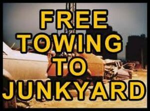 Free Scrap/Junk Car/ Removal ,Canmore,Banff,Exshaw Cash 4 cars!