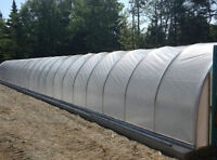 UV Greenhouse Poly Covering, New in Package, 3 rolls available