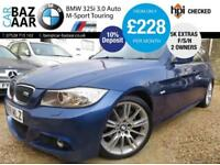 BMW 325 3.0 auto i M Sport Touring+F/S/H+RARE CAR+PAN ROOF+TWO OWNERS