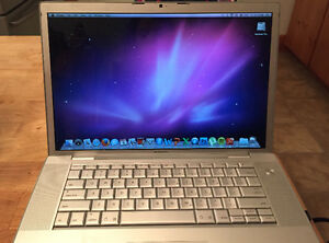 Apple MacBook Pro 15.4- SOLD