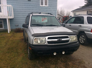 2001 Chevrolet Tracker VUS